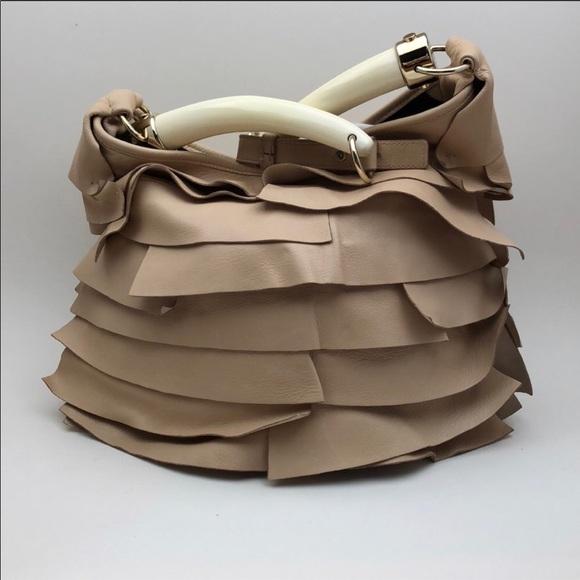 09ef196cf2 Yves Saint Laurent Bags | Ysl Rive Gauche Horn Handles St Tropez Bag ...